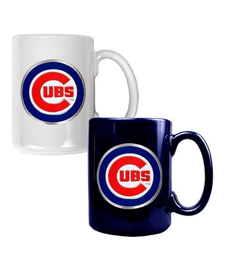 Chicago Cubs Coffee Mug Set