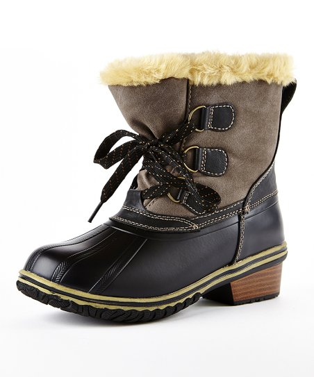 Charcoal Tonto Duck Boot - Women
