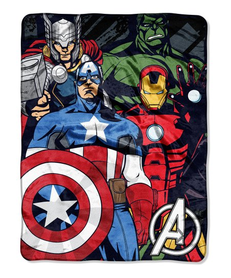 Avengers Assemble Throw Blanket