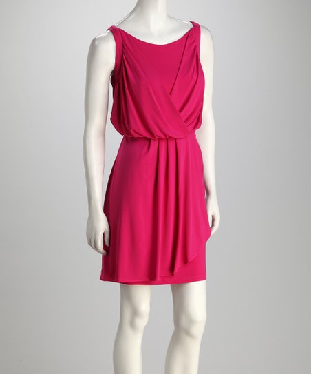 Fuchsia Berry Dress