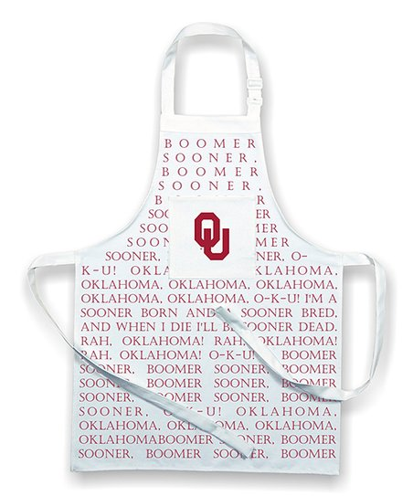 Oklahoma Sooners Fight Song Apron