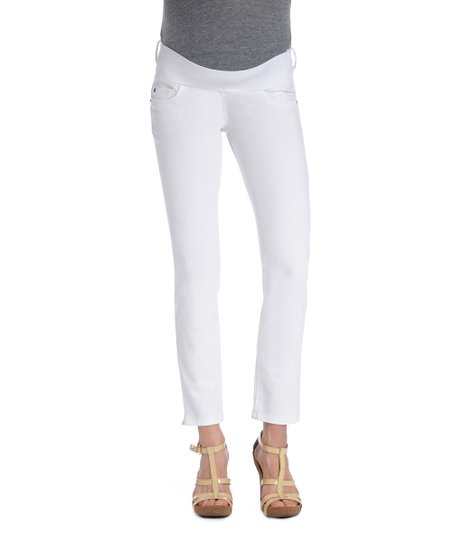 Milk Angel Under-Belly Maternity Ankle Jeans