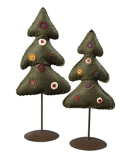 Penny Tree Figurine – Set of Two