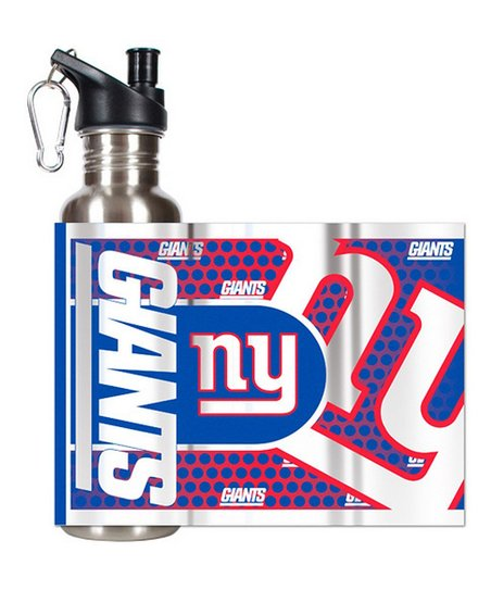 New York Giants Stainless Steel Water Bottle