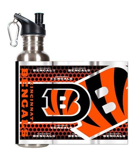 Cincinnati Bengals Stainless Steel Water Bottle