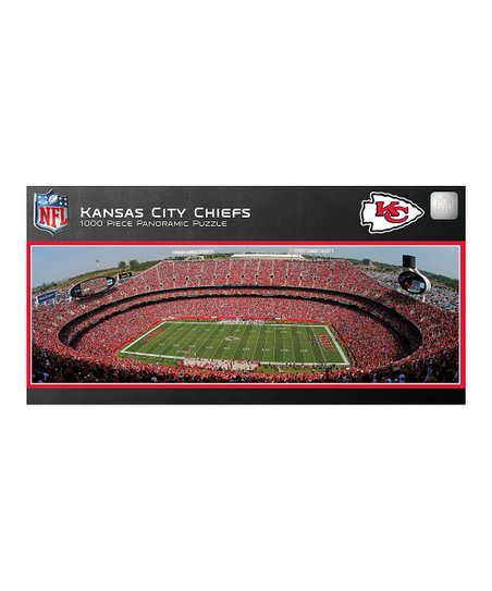 Kansas City Chiefs Panoramic Stadium Puzzle