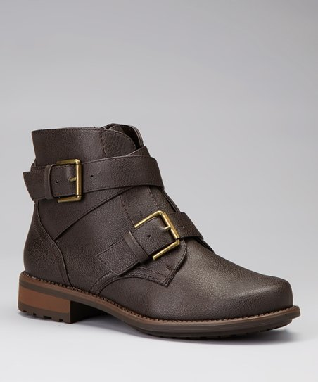 Brown Vilma Ankle Boot
