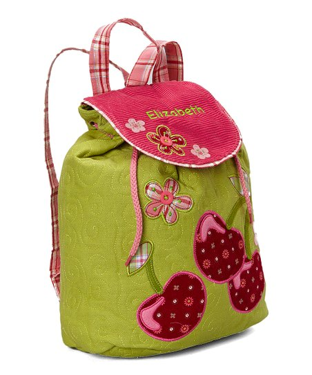 Cherry Personalized Backpack