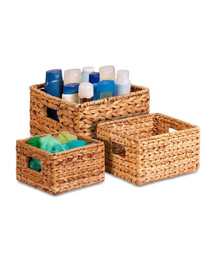 Nesting Banana Leaf Basket Set