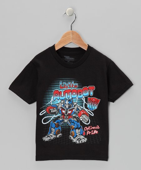 Black Transformers Autobot Tee - Toddler