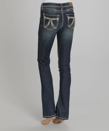 Spacehog Blue Rocker Slim-Cut Jeans