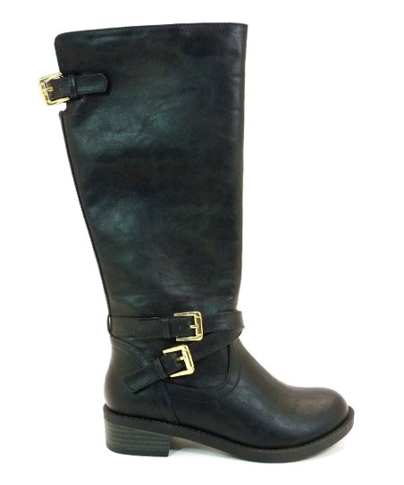 Black & Gold Bio Boot