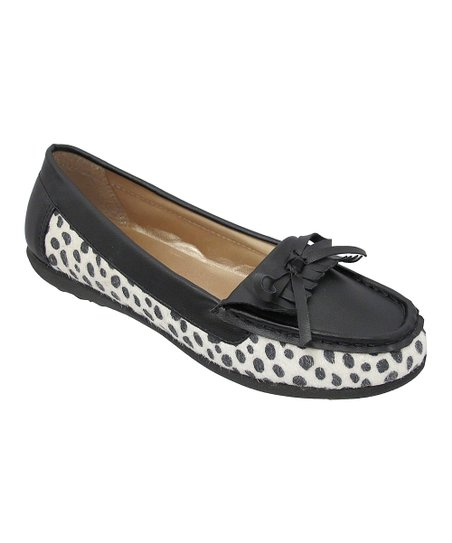 Black Katia Dot Loafer