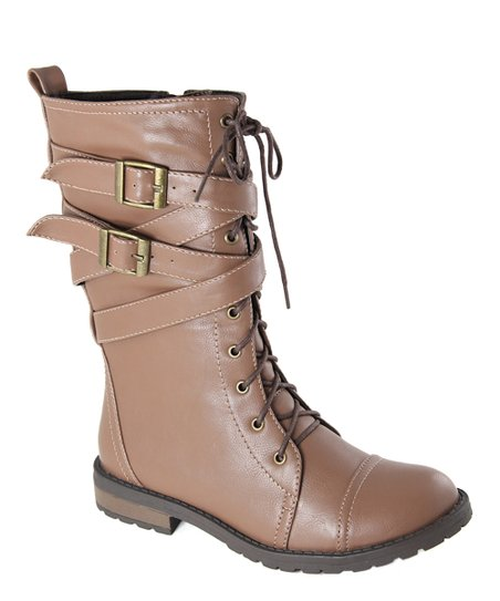 Light Brown Mixup Boot