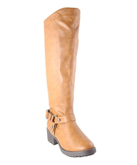 Light Brown Tall Boot