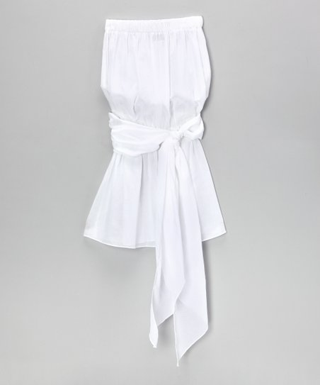 White Sash Cover-Up