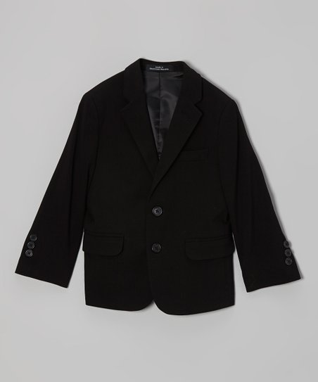 Black Bi-Stretch Jacket