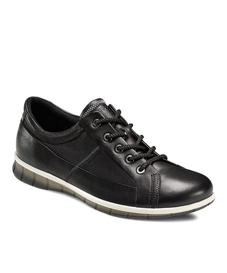 Black Agnes Lace-Up Shoe