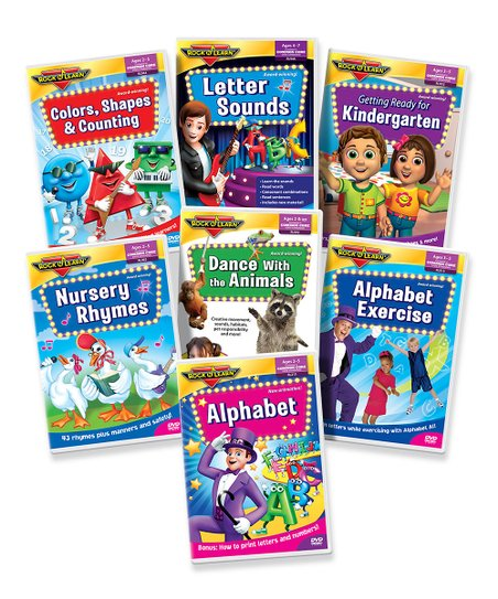 Deluxe Early Learning DVD Set