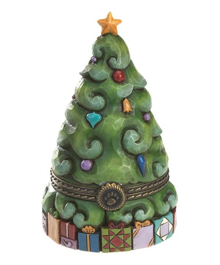 Christmas Tree Treasure Box