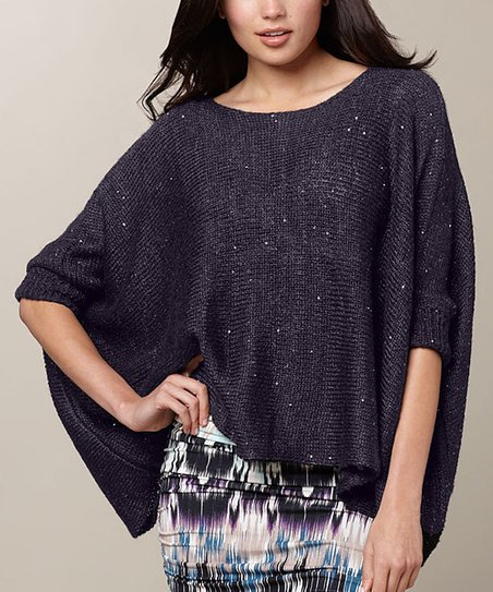 Slate Bella Wool Dolman Top
