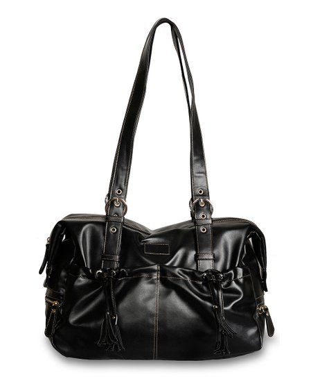 Black Shanti Diaper Bag