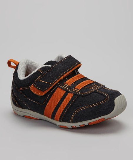 Navy & Orange Frederick Sneaker