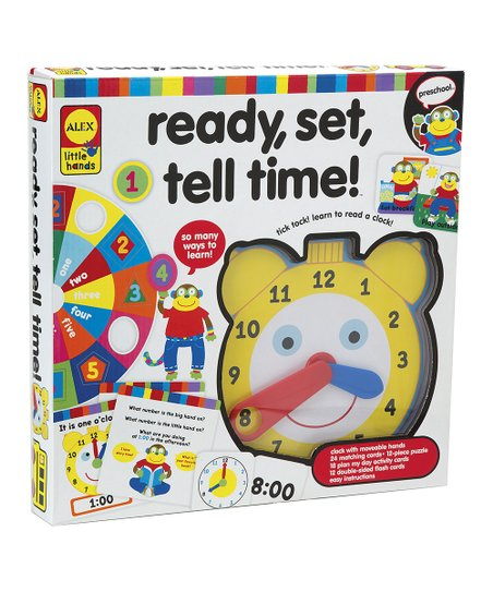 Ready, Set, Tell Time! Kit