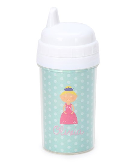 Blonde Princess Personalized Sippy Cup
