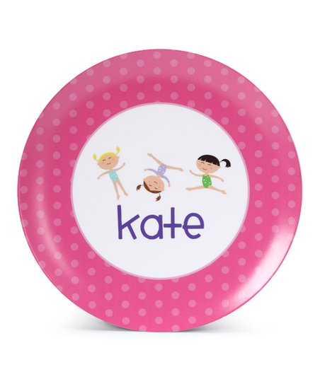Gymnastics Personalized Plate