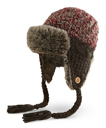 Red Emry Trapper Hat