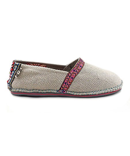 Natural Cotton Hicky Slip-On Shoe