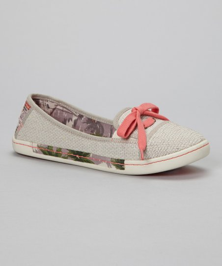 Natural Sole Soldier Slip-On Shoe