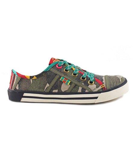 Camo Canvas Swagger Sneaker