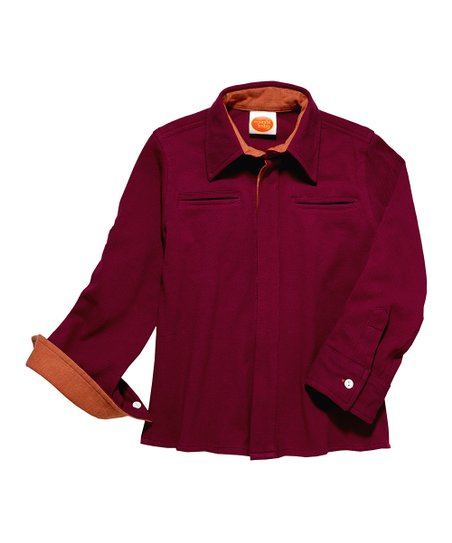 Pique Plum Button-Up - Toddler & Boys