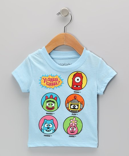 Light Blue 'Yo Gabba Gabba!' Group Tee - Infant
