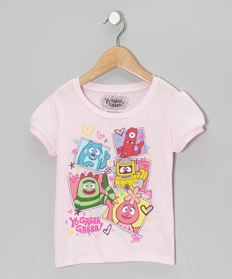 Light Pink Yo Gabba Gabba! Tee - Infant & Toddler