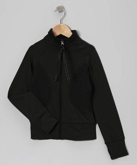 Black Warm-Up Jacket