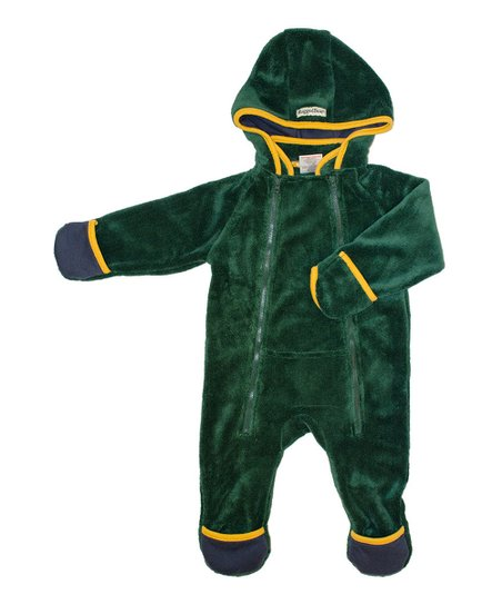 Green & Yellow Hooded Bunting - Infant