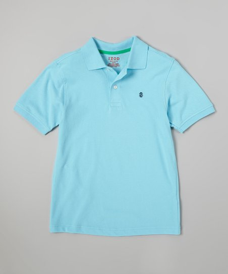 Icy Blue Polo - Boys