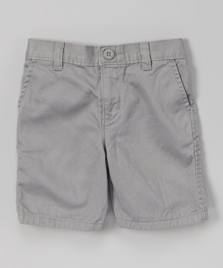Silver Shorts - Toddler & Boys