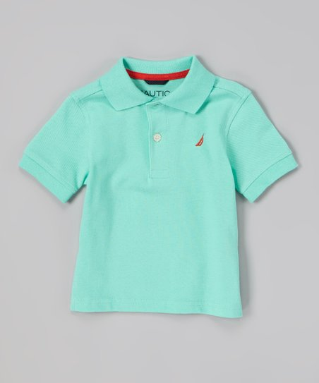 Light Green Polo - Toddler & Boys