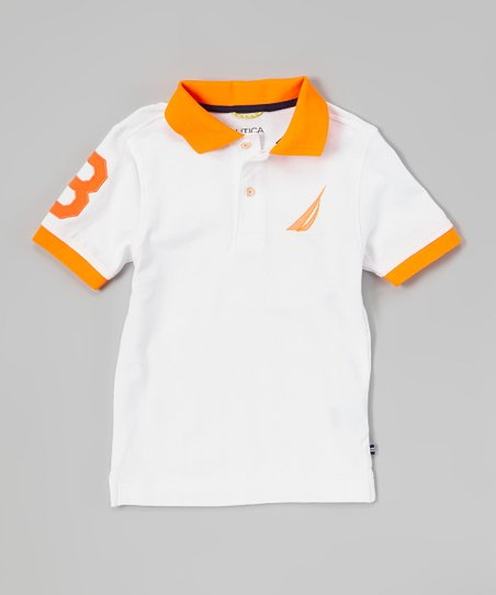Sail White Jersey Polo - Toddler & Boys