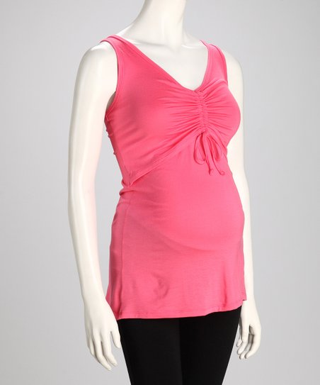 Coral Maternity & Nursing Tank - Women