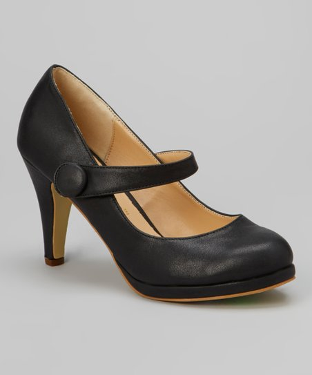 Black Cody Mary Jane Pump