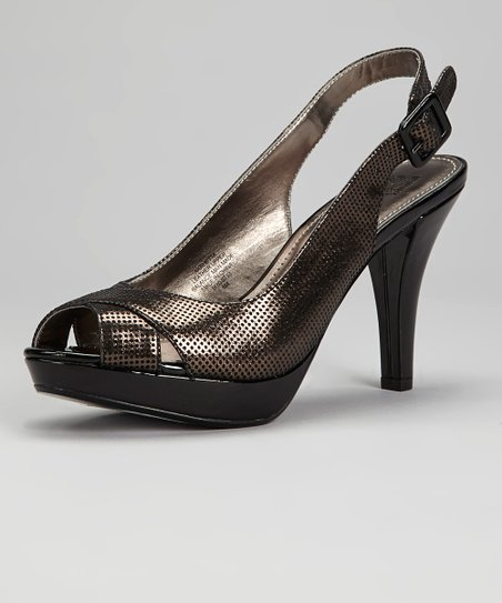 Black Rhetta Pump