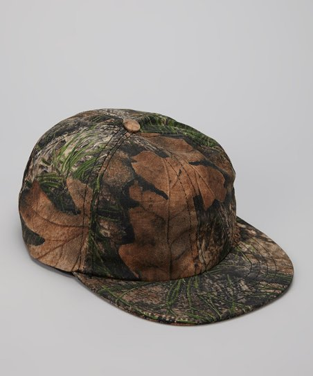 Mixed Pine Camo Ball Cap - Kids