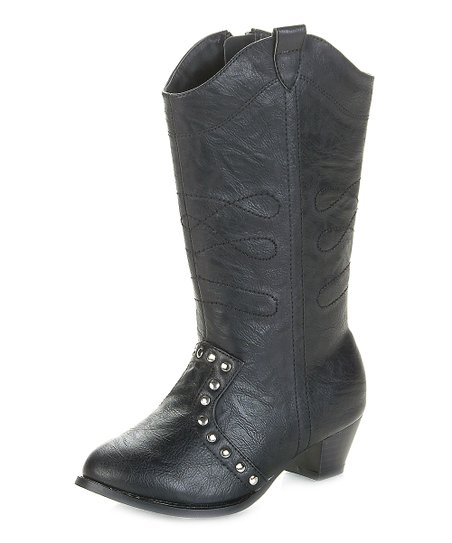 Black Marino Cowboy Boot