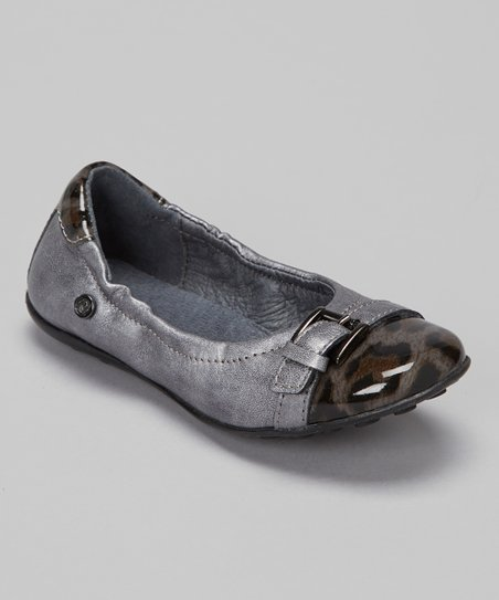 Pewter Buckle Flat