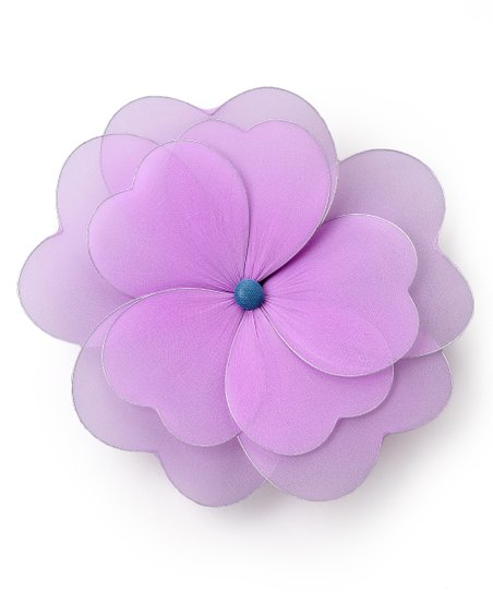 Purple Multilayer Hanging Flower